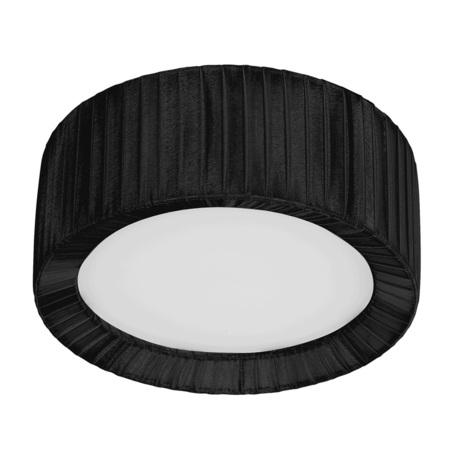 Потолочный светильник Nowodvorski Alehandro 5346, 1xE27x60W, хром, белый, черный, металл, стекло, текстиль - миниатюра 1