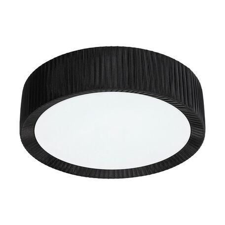 Потолочный светильник Nowodvorski Alehandro 5347, 2xE27x60W, хром, белый, черный, металл, стекло, текстиль