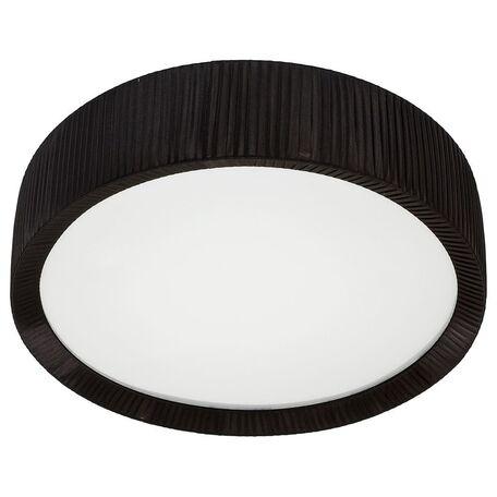 Потолочный светильник Nowodvorski Alehandro 5350, 2xG5T5x24W, хром, белый, черный, металл, стекло, текстиль