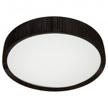 Потолочный светильник Nowodvorski Alehandro 5351, 2xG5T5x39W +  2xG5T5x24W, хром, белый, черный, металл, стекло, текстиль