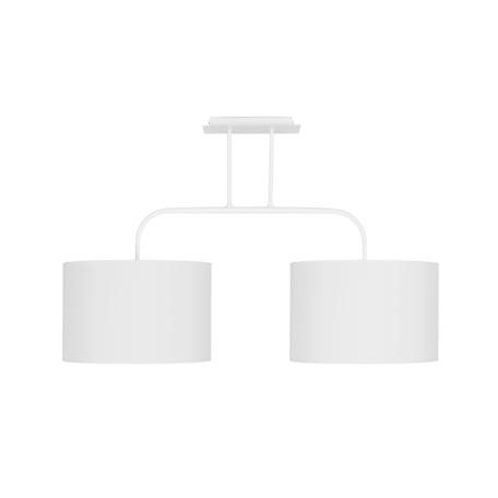 Потолочный светильник Nowodvorski Alice 5385, 2xE27x100W, белый, металл, текстиль