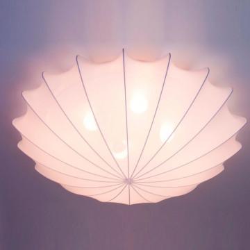 Потолочный светильник Nowodvorski Form 9672, 4xE27x25W, белый, металл, текстиль