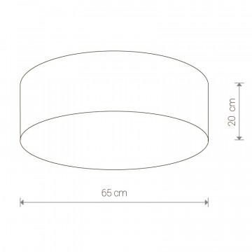 Схема с размерами Nowodvorski 9681