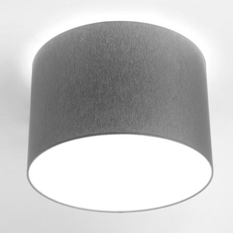 Потолочный светильник Nowodvorski Cameron 9683, 3xE27x25W, серый, белый, металл, текстиль