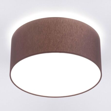 Потолочный светильник Nowodvorski Cameron 9686, 2xE27x25W, коричневый, белый, металл, текстиль