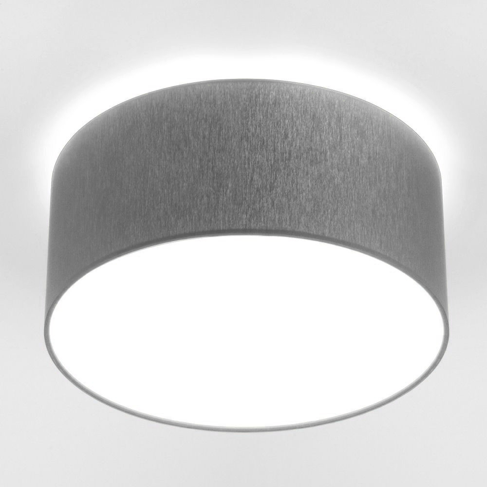 Потолочный светильник Nowodvorski Cameron 9687, 2xE27x25W, серый, белый, металл, текстиль - фото 1