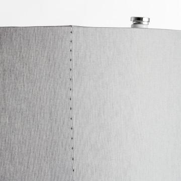 Потолочный светильник Nowodvorski Cameron 9687, 2xE27x25W, серый, белый, металл, текстиль - миниатюра 2