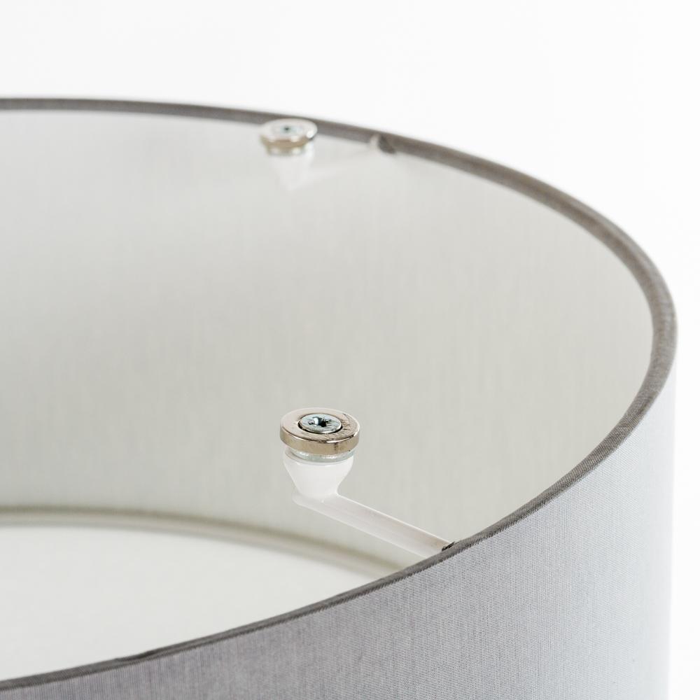 Потолочный светильник Nowodvorski Cameron 9687, 2xE27x25W, серый, белый, металл, текстиль - фото 3
