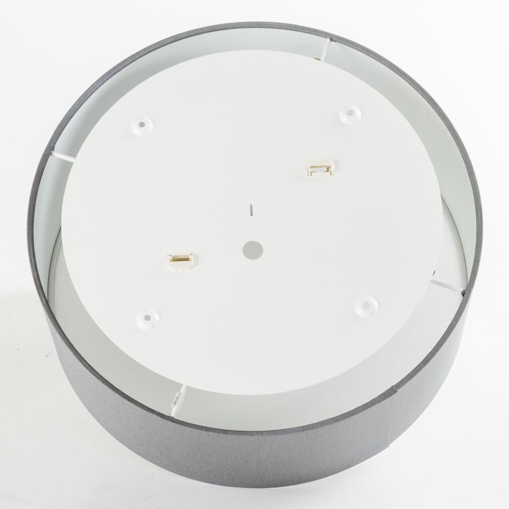 Потолочный светильник Nowodvorski Cameron 9687, 2xE27x25W, серый, белый, металл, текстиль - фото 4