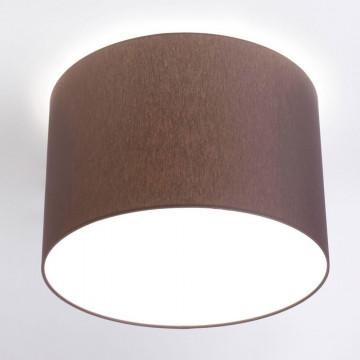 Потолочный светильник Nowodvorski Cameron 9688, 3xE27x25W, коричневый, белый, металл, текстиль