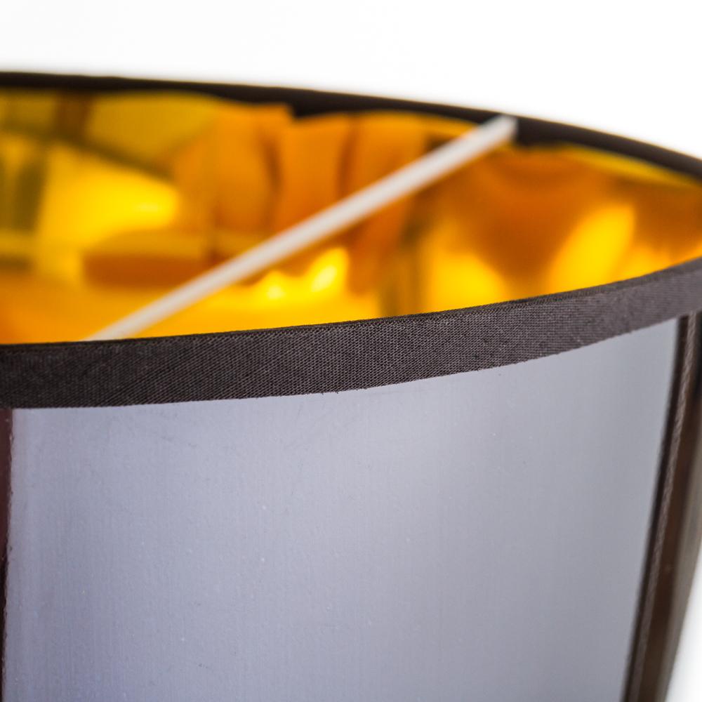 Торшер Nowodvorski Alaska Black 5755, 1xE27x60W, черный, золото, металл, пластик - фото 3