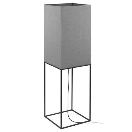 Торшер Nowodvorski Flam 9731, 4xE27x60W, черный, серый, металл, текстиль