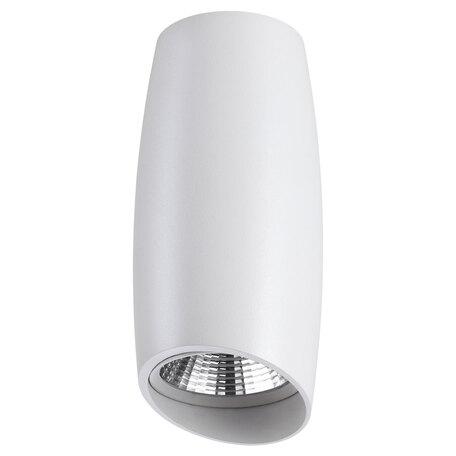 Потолочный светодиодный светильник Novotech Mango 358364, LED 10W 4000K 900lm, белый, металл