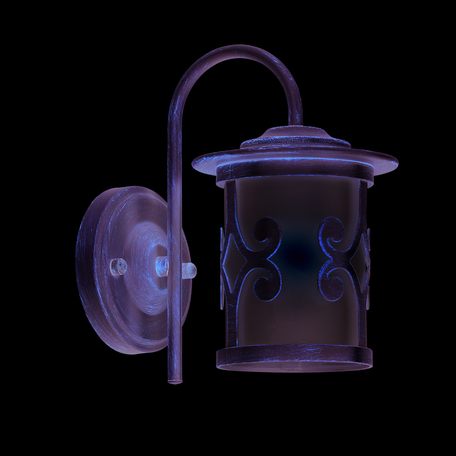 Бра Lumion Sekvana 3125/1W, 1xE27x40W, белый с золотой патиной, металл, металл со стеклом