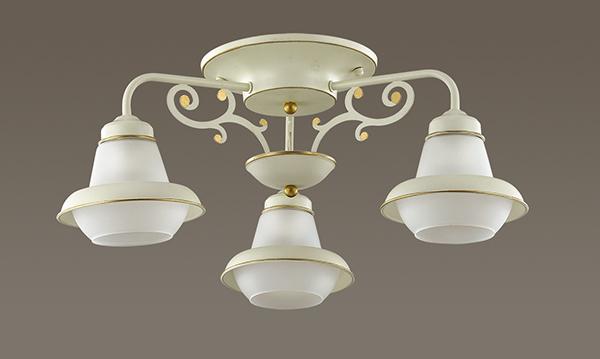 Lumion Tefida 3105/3C, 3xE27x60W, металл, стекло - фото 4