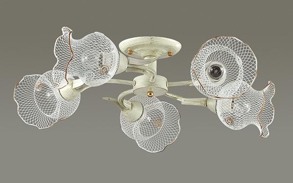 Lumion Rozetta 3108/5C, 5xE27x60W, металл - фото 4