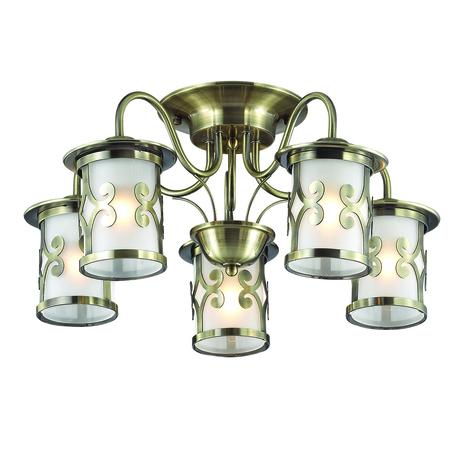 Lumion Sekvana 3118/5C, 5xE27x40W, металл, стекло