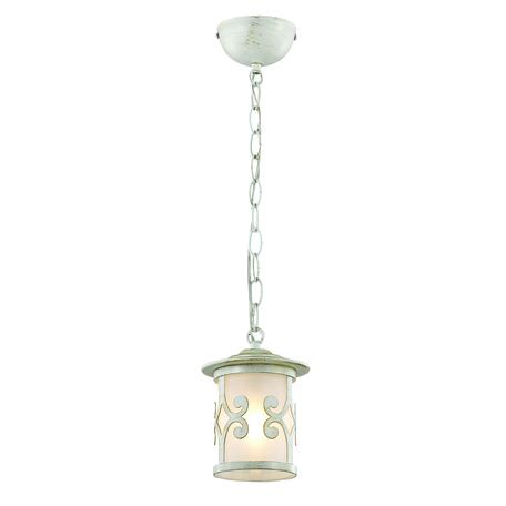 Подвесной светильник Lumion Sekvana 3125/1, 1xE27x40W, белый с золотой патиной, металл, металл со стеклом