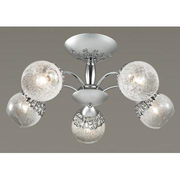 Потолочная люстра Lumion Nevette 3020/5C, 5xE14x60W, никель, хром, прозрачный, металл, стекло - миниатюра 3