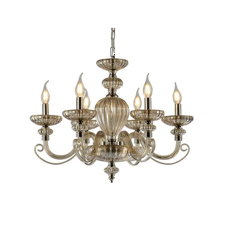 Светильник Newport 12800 12806/C cognac (М0062020), 6xE14x40W