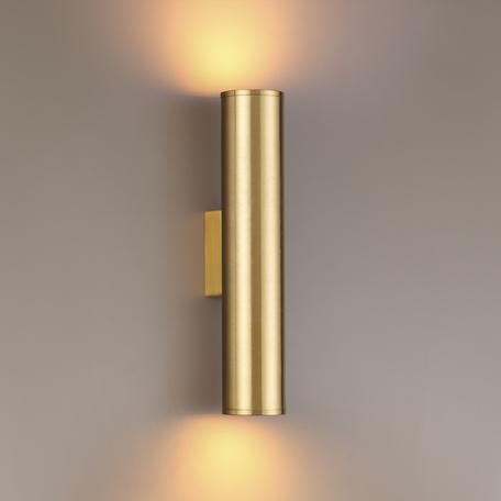 Настенный светильник Odeon Light Hightech Dario 3833/2WB, 2xE27x7W, золото, металл