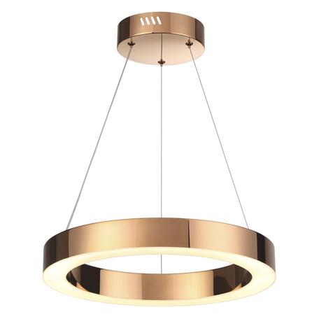 Подвесной светодиодный светильник Odeon Light L-Vision Brizzi 3885/25LA, LED 25W 4000K 1680lm, бронза, металл