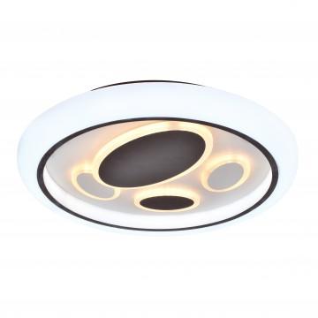 Потолочный светодиодный светильник с пультом ДУ Favourite F-Promo Lamellar 2457-5C, LED 120W 3000-6000K