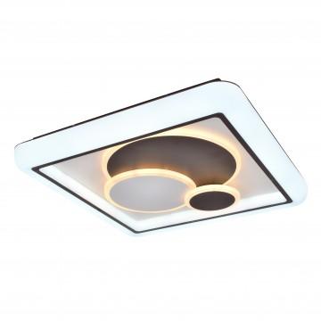 Потолочный светодиодный светильник с пультом ДУ Favourite F-Promo Lamellar 2458-5C, LED 120W 3000-6000K