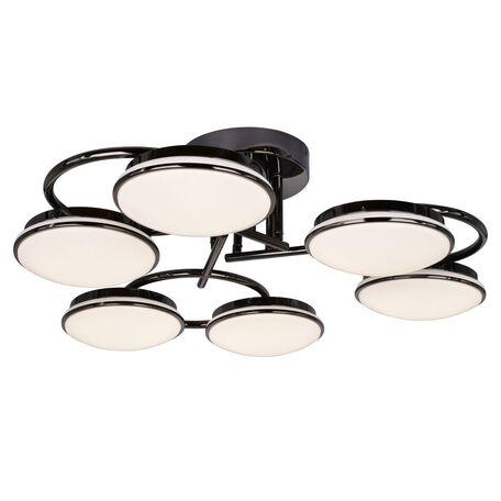 Потолочная светодиодная люстра с пультом ДУ Favourite F-Promo LEDante 2478-6U, LED 108W 3000-6000K