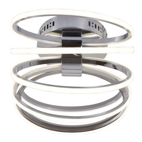 Потолочный светодиодный светильник Favourite F-Promo Cohor 2389-7U, LED 84W 3000-6000K 5700lm, хром, металл, металл с пластиком