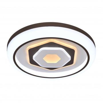 Потолочный светодиодный светильник с пультом ДУ Favourite F-Promo Lamellar 2456-5C, LED 120W 3000-6000K