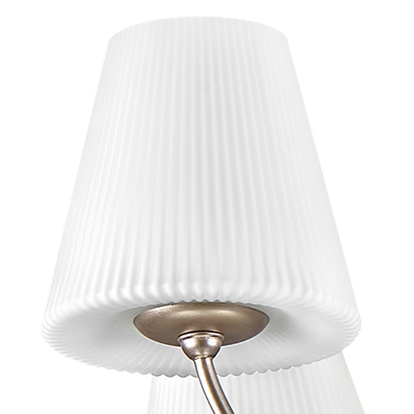 Потолочная люстра Lightstar Vortico 814093, 9xG9x40W, янтарь, белый, металл, стекло - фото 6