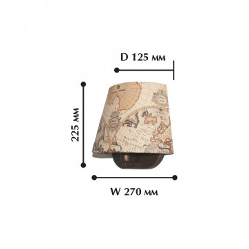 Схема с размерами Favourite 1122-1W