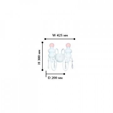 Схема с размерами Favourite 1674-2W