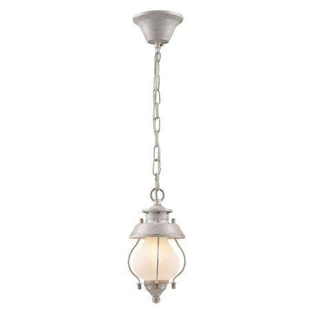 Подвесной светильник Favourite Lucciola 1461-1P, 1xE14x40W, белый с золотой патиной, металл, металл со стеклом