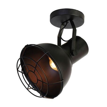 Потолочный светильник с регулировкой направления света Favourite Manufactory 1897-1W, 1xE27x60W, черный, металл