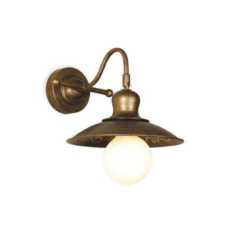 Бра с регулировкой направления света Favourite Magrib 1214-1W, 1xE27x60W, коричневый, металл