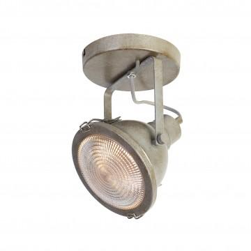 Потолочный светильник с регулировкой направления света Favourite Industria 1899-1W, 1xGU10x50W, серый, металл