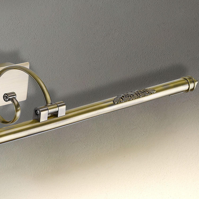 Настенный светодиодный светильник для подсветки картин Favourite Notum 2430-2W, LED 12W 4000K 837lm, бронза, металл - фото 3