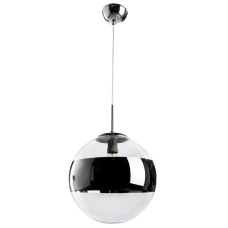 Подвесной светильник Arte Lamp Galactica A1582SP-1CC, 1xE27x40W, хром, прозрачный, металл, стекло