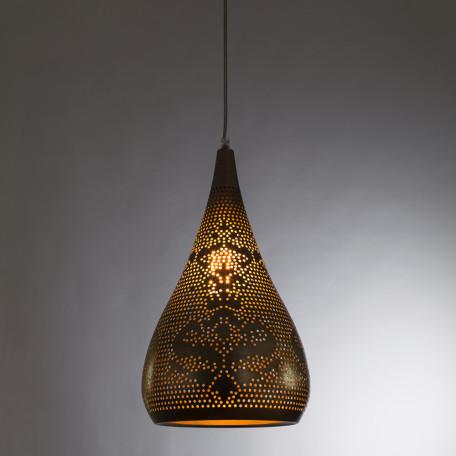 Подвесной светильник Arte Lamp Ajour A1708SP-1SG, 1xE27x40W, матовое золото, металл - миниатюра 2