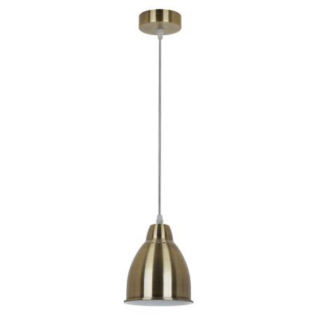 Подвесной светильник Arte Lamp Braccio A2054SP-1AB, 1xE27x60W, бронза, металл