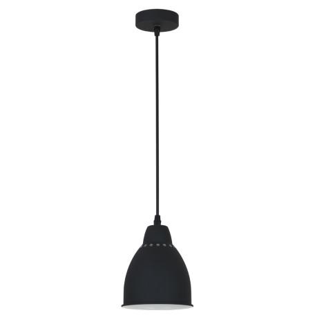 Подвесной светильник Arte Lamp Braccio A2054SP-1BK, 1xE27x60W, черный, металл