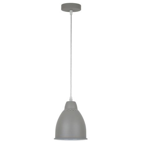 Подвесной светильник Arte Lamp Braccio A2054SP-1GY, 1xE27x60W, серый, металл