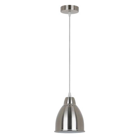 Подвесной светильник Arte Lamp Braccio A2054SP-1SS, 1xE27x60W, серебро, металл