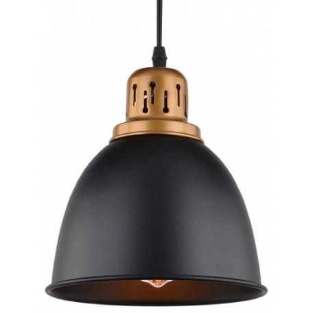 Подвесной светильник Arte Lamp Eurica A4245SP-1BK, 1xE27x60W, черный, металл - миниатюра 3