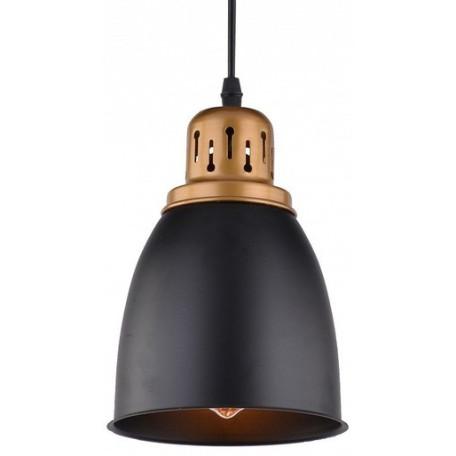 Подвесной светильник Arte Lamp Eurica A4248SP-1BK, 1xE27x60W, черный, металл - миниатюра 3