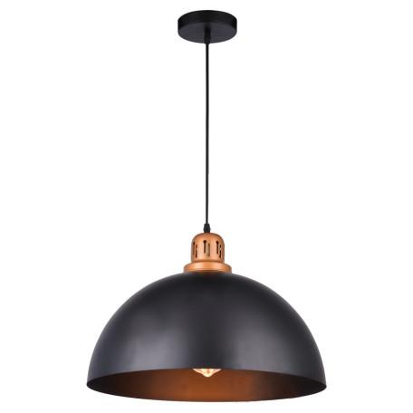 Подвесной светильник Arte Lamp Eurica A4249SP-1BK, 1xE27x60W, черный, металл
