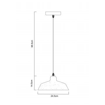 Схема с размерами Arte Lamp A4297SP-1CC