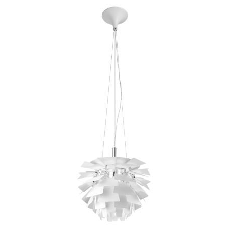 Подвесной светильник Arte Lamp Botticelli A8008SP-1WH, 1xE27x60W, белый, металл